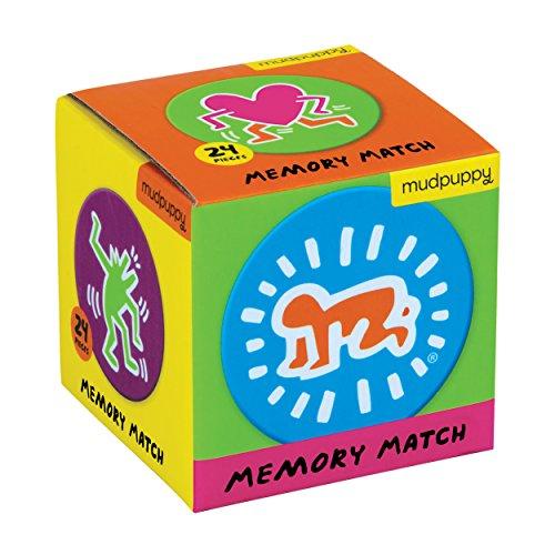 Keith Haring Mini Memory Match Game: Mini Mem Match Keith Haring por Keith Haring