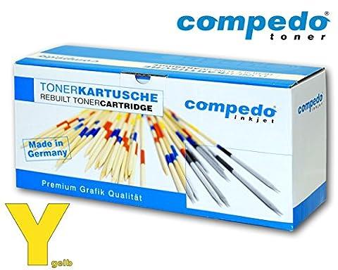 Compedo Premium Toner yellow/gelb (1.000 Seiten) ersetzt Xerox Nr. 106R02758 für Xerox Phaser 6020, 6020BI, 6022, 6027,Xerox WorkCentre 6025, 6027 u.