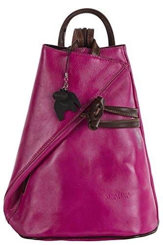 Big Handbag Shop, Borsa a spalla donna Rosa / Braun