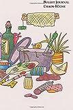 Bullet Journal Chaos-Küche ca. A5 (15,2 x 22,9cm) 200 Seiten dotted cream paper: Softcover-Notizbuch mit Punktraster, Seitenzahlen - cremefarbenes Papier