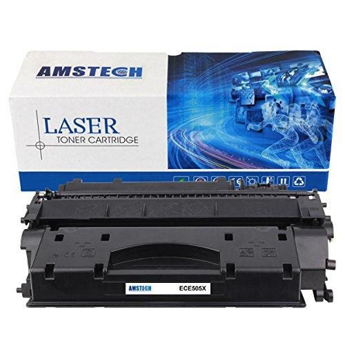 Preisvergleich Produktbild Amstech kompatibel toner CE505X Schwarz Tonerkartusche replacement fuer HP LaserJet P2055D P2055DN P2055X Standard Yield (6500 Seiten)