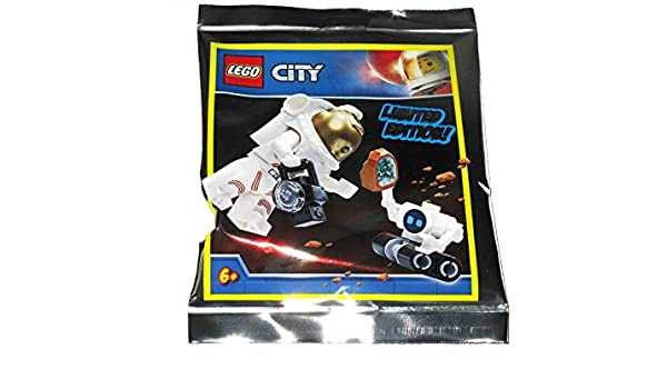 LEGO City Astronaut with Space Buggy Foil Pack Set 951911 ...