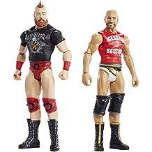 WWE - Pack de 2 figuras básicas con accesorios, Cesaro y Sheamus (Mattel FMF69)