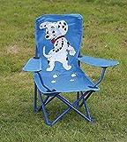 Quest Kinderstuhl, zusammenklappbar, Dalmatiner-Design, ideal für Camping, Kinderpartys, Terrassen, Grillabende oder Kinderzimmer