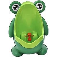 YZLSM Grenouille Mignon Petit Pot de Formation Urinoir avec Ventouse pour Boy Pee Entraîneur Vert 1pc