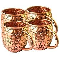 BARREL CRAFTS tazas de cobre de moscú con capacidad de 16 oz auténticas tazas de mola