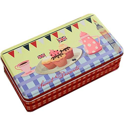 Gj Schokolade (Keksdosen Keksdose Süßigkeiten/Schokolade Dosen Postkarte Aufbewahrungsboxen-A4)