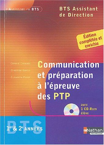 Communication et préparation à l'épreuve des PTP