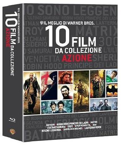 Il meglio di Warner Bros. - 10 film da collezione - Azione [Blu-ray] [Import anglais]