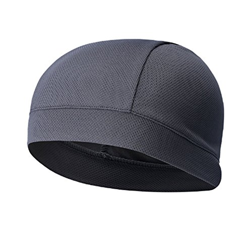 ITODA Cycling Cap Thermal Skull Cap Headwear Wind Proof Helmet Liner Hat Stretchable Quickly Dry Cap Bicycle Headgear Breathable Sports Beanie for Ridding,Running,Hiking