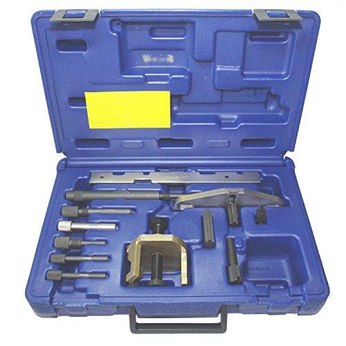 A-8076 Werkzeug Arretierung Nockenwelle / Kurbelwelle Ford & Mazda & Renault Diesel 1,8 D / TD / TDCI für Zetec, Zetec SE & 1,6L Ti-VCT + 2,0 2,2 TDCI & Motor Benzin 1,25l - 1,4l - 1,6l - 1,8l 2,0l