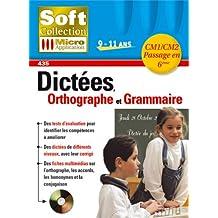 Dictées, Orthographe et Grammaire
