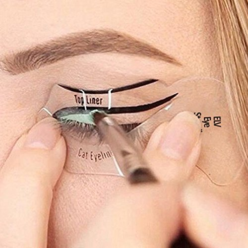 FOK Eye Liner Stencil Template Smokey Eyeliner Shaper Eyeshadow - Eyeshadow template