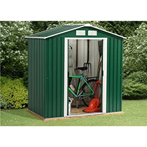 Oslo 6FT x 8FT VALUE METAL SHED (2.01m x 2.42m)