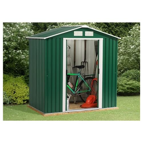 Oslo 6FT x 4FT VALUE METAL SHED (2.01m x 1.22m)