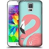 Head Case Designs Rosa Fashion Flamingos Ruckseite Hülle für Samsung Galaxy S5 / S5 Neo