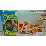 Sylvanian 2 Figuras + Set Jueg