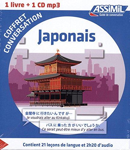 Japonais : Coffret de conversation (1CD audio MP3)