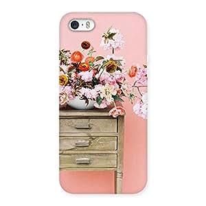 Neo World Vintage Floral Design Back Case Cover for iPhone SE