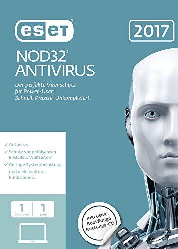 Produktbild ESET NOD32 Antivirus 2017 Edition 1 User (FFP)