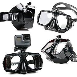 Duragadget pour caméra Sportive Masque de plongée avec Support et Adaptateur Compatible pour EasyPix GoXtreme Deep Sea, Nano, Race Full HD, Race Mini et Explorer (vis Non fournie) Garantie de 2 Ans