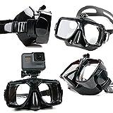 Maschera subacquea DURAGADGET con supporto per action camera...