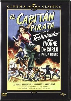 Buccaneer's Girl (El capitan pirata) Spanish import, plays in English by Yvonne de Carlo