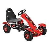 FoxHunter T-REX Red Outdoor Gokart | Kids Pedal Gocart | Toy Kart Racing