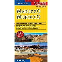KUNTH Reisekarte Marokko 1:800000 (KUNTH Reisekarten)