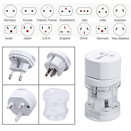 Rts™ Multi-Socket Outlet Travel Plug Adapter Set For USA UK AUS Europe