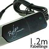 Rydges SpeedPower® 1.2 High-Quality Schnellladegerät Power Netzteil Reise-Ladegerät 2A / 2000 mAh Steckernetzteil - für alle Samsung / Alcatel / Blackberry / Doro / Google / HTC / Huawei / Oneplus one / Kazam / Kyocera / LG / Motorola / Nokia / Palm / Sanyo / Sony - Handys - Tablets - eBooks - MP3 Player - mit micro-USB Anschluss / Kompatibilitätsliste befindet sich in der Beschreibung