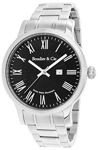 d42c8d3b3bd7 Boudier   Cie BSSM208 – Reloj de Cuarzo Analogico con movimiento ...