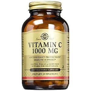 Solgar Vitamin C 1000 mg Vegetable Capsules – Pack of 100