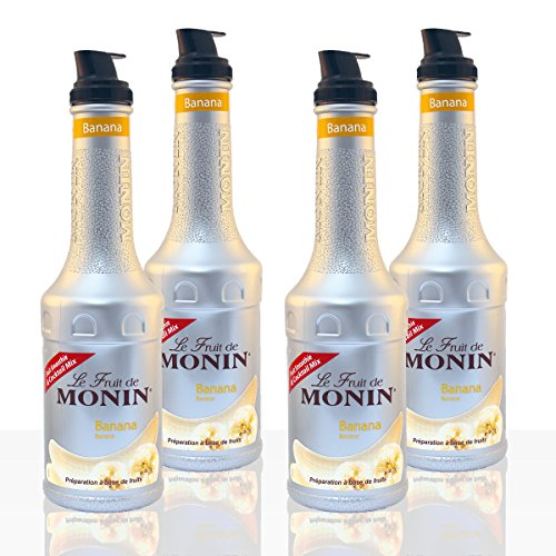 Monin - Banana Purée - 1L (Case of 4)