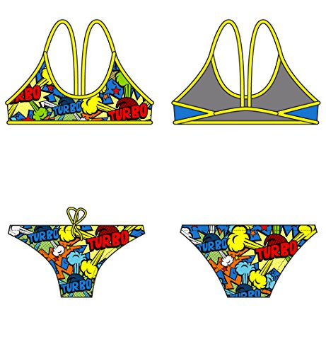 Turbo Pop Turbo Bikini Women Multicolor 2017 Bademode Multicolor