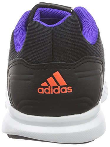 adidas Runfastic, Baskets Basses Garçon Schwarz (Core Black/Night Flash S15/Solar Red)