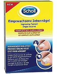 Scholl Eingewachsene Zehennägel Set, Clips & Spray, 1er Pack