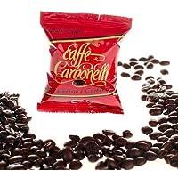 Caffè Carbonelli Miscela Forte - Confezione da 100 Capsule – Compatibile Lavazza Espresso Point®