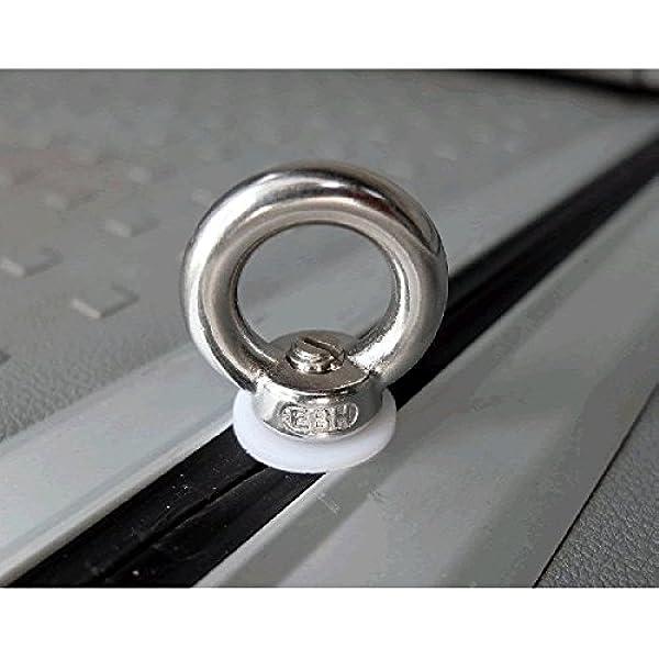 VW Transporter T5 T5.1 T6 D Ring Lashing Points Loops