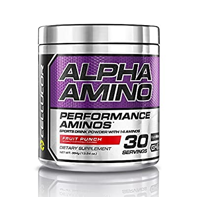 Cellucor Alpha Amino, BCAA Supplement, Fruit Punch 30 Servings (384g) from WOODBOLT DISTRIBUITION, LLC
