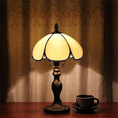 Lampe Tiffany - Gweat-Tiffany 8 pouces incurvé Artisanat minimaliste Table