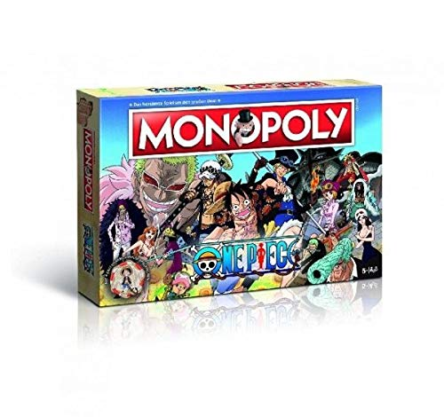 Winning Moves 44796 Monopoly One Piece - der ultimative Fanartikel zur Anime-Serie - Brettspiel ab 8 Jahren, deutsch (Piraten Gold-brettspiel)