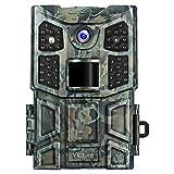 Victure Caméra de Chasse Vision Nocturne 20MP Full HD 1080P avec PIR Détection Grand Angle Caméra de Curveillance Infrarouges avec 40 LEDs Aucune Lueur et Une Vitesse de Déclenchement de 0.2 Seconde Ideal Pour Les Chasseurs