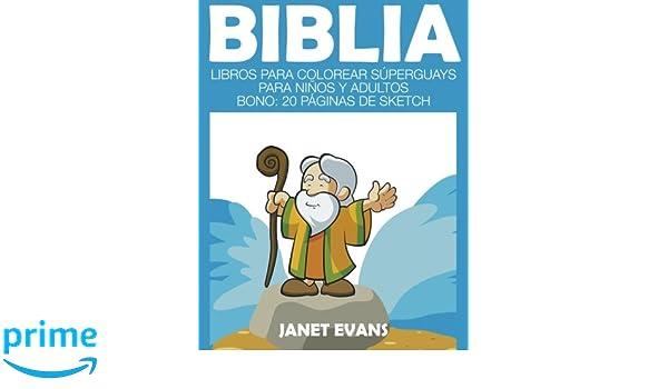 Buy Biblia: Libros Para Colorear Superguays Para Ninos y Adultos ...