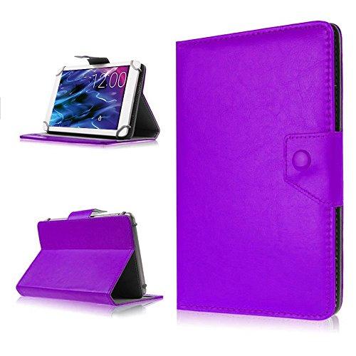 na-commerce Tablet Hülle für Medion Lifetab P8514 P8314 P8312 S8312 Tasche Schutzhülle Case, Farben:Lila