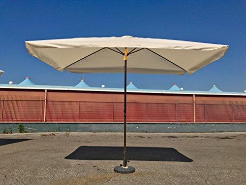 660138 Ombrellone con Manovella da Giardino 3x2 Bar Terrazzo Mare ...