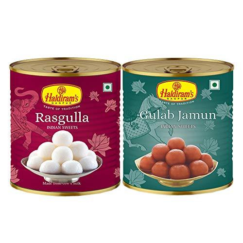 Haldiram'S Nagpur Gulab Jamun & Rasgulla ( Combo Pack )
