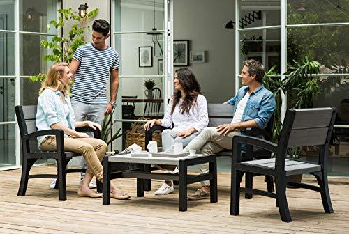 Keter Lounge Sofa, Montero Gartenbank - 6