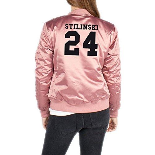 Stilinski 24 Bomberjacke Girls Rosa Certified Freak-S