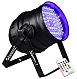 Projektor projo PAR 64PAR64DMX 6Kanäle 176x LED 10mm RGB + Fernbedienung IR